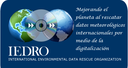 IEDRO - Improving the world by rescuing weather data