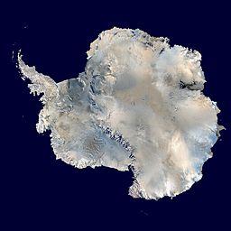 Antarcica map