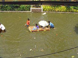Flooding from Typhoon Ketsana