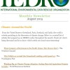 IEDRO Newsletter - August 2015